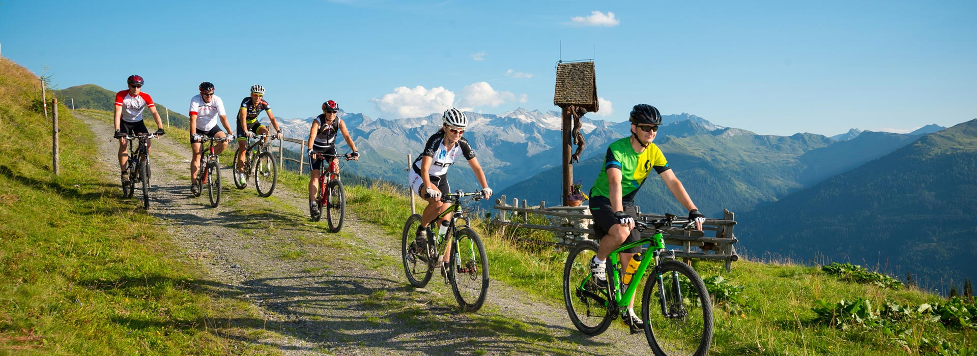 Mountainbike Sommer Grossaltal